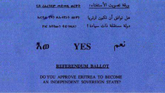 Affirmative Ballot from 1993 Referendum