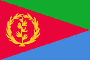 Flag of Eritrea from 1993-1995